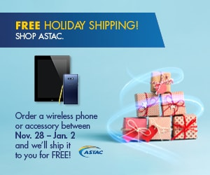 18ASTAC108 Holiday Free Shipping Promo - 300x250_v1